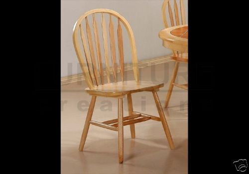 Natural Finish Arrow Back Chair