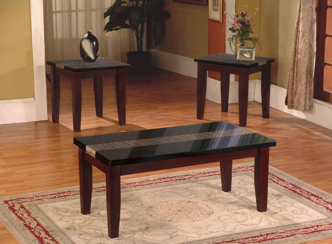 Black Wood Coffee Table Set Hipenmoeder Nl