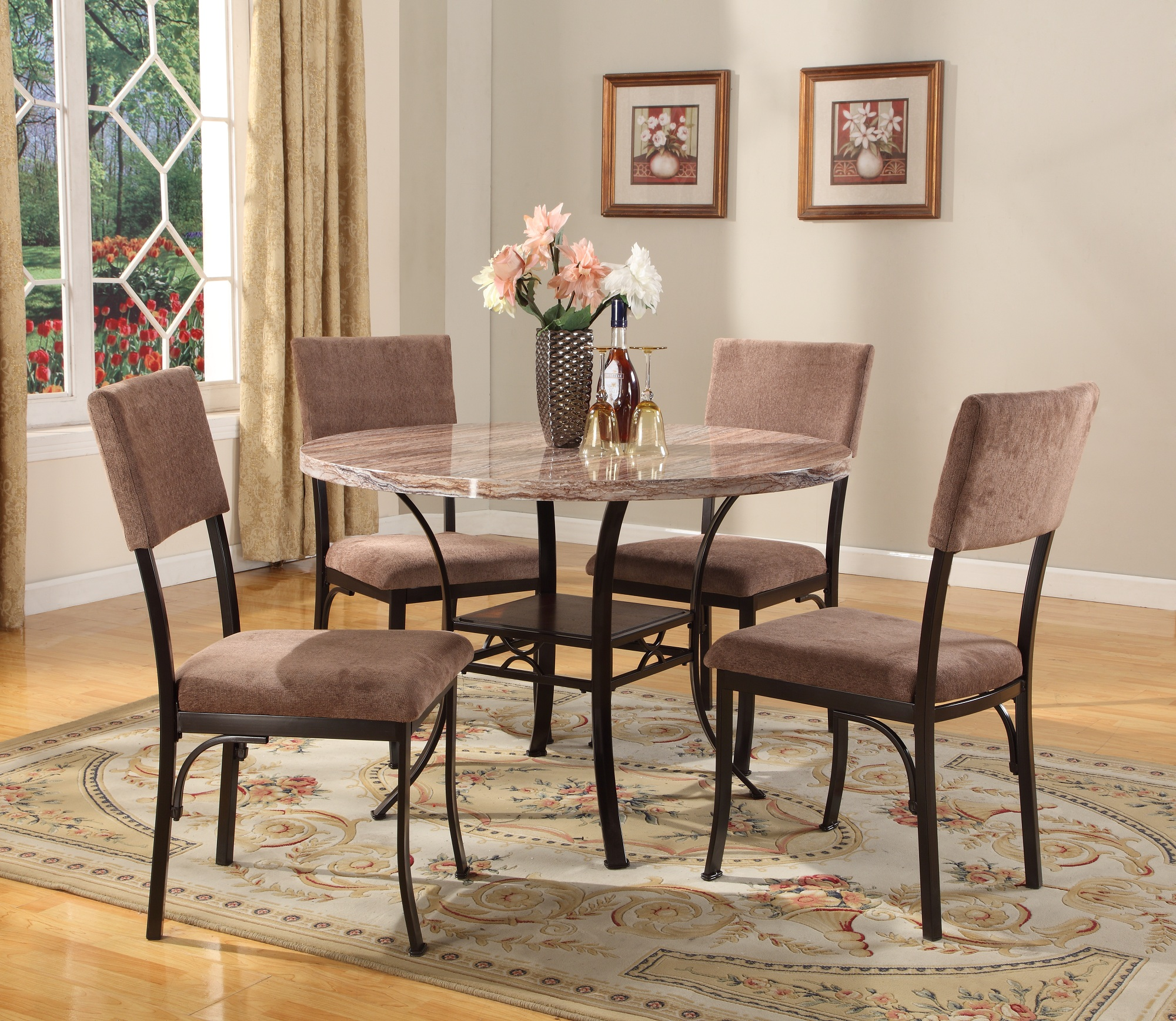 extendable supreme dining round chairs inventiveness table glass compact room set most bamboo